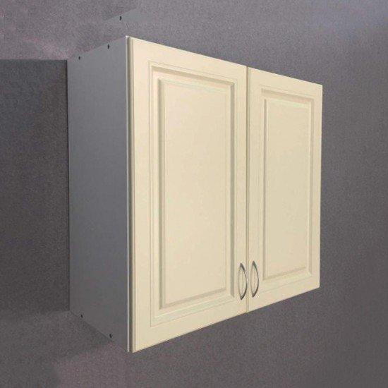 Купить Шкаф верхний с сушкой 2 двери 800x720x300, Болонья Бежевая на Diportes.Store Недорого.