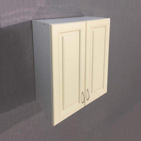 Купить Шкаф верхний с сушкой 2 двери 600x720x300, Болонья Бежевая на Diportes.Store Недорого.