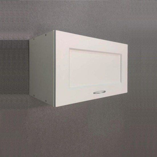 Купить Шкаф верхний 600x360x300, Женева Белая на Diportes.Store Недорого.