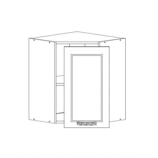 Купить Шкаф верхний 2 двери 600x720x600, Женева Белая на Diportes.Store Недорого.