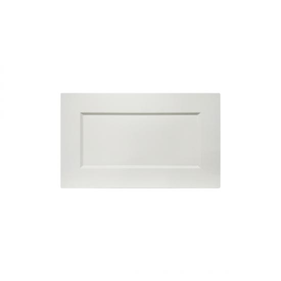 Купить МДФ-фасад Женева Белый 356x596 на Diportes.Store Недорого.